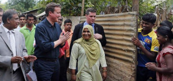 Cameron Visit to Jaffna – duress from Tamil Businessman Party Supporter