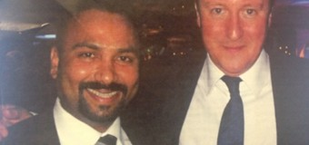 Uk Prime Minister with pro-LTTE Tamil Terrorists Businessman