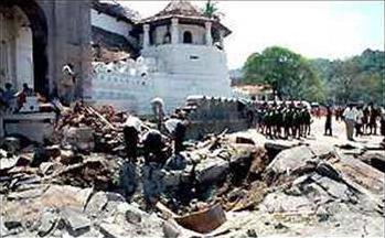Image result for LTTE attack in Dalada maligawa