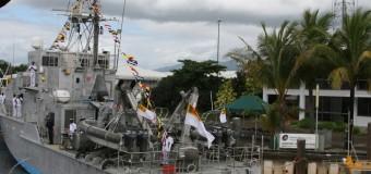 Sri Lanka takes over the first Australian Custom Vessel 'Corio Bay' gifted by Australia