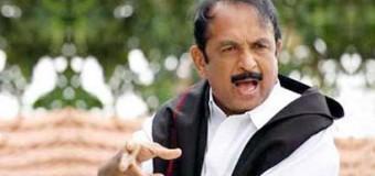 LTTE Terrorist backed Vaiko detained