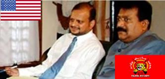 US sitizen V. Rudrakumaran with US band LTTE Tamil terrorist leader V. Prabakaran