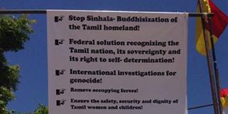 Sri Lankan Government preaching RECONCIILIATION – Tamil politicians preaching RACISM