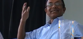 First, get the lines straightened out Jayampathy