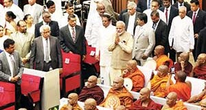 Is security of India and Sri Lanka indivisible?