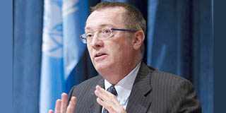 What does UN Under-Secretary-General Feltman  have to do with our constitution?