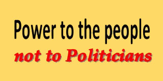 Constitutions are not Career Ladders for Politicians, their families & henchmen