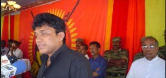 Federalists and Pro-LTTE Tamil terrorist Mano Ganeshan provided with STF VIP security to get Tamil Votes by Yahapalanaya