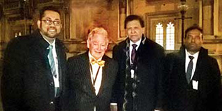 Reach consensus on joint effort to counter Geneva project<br /> Global Sri Lanka Forum team meets Lord Naseby