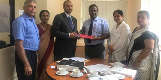 GSLF Submitted a Petition to UN in Sri Lanka
