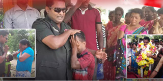 LTTE village & a Sri Lankan Military Officer show the world what Reconciliation & Peaceful Coexistence is all about.
