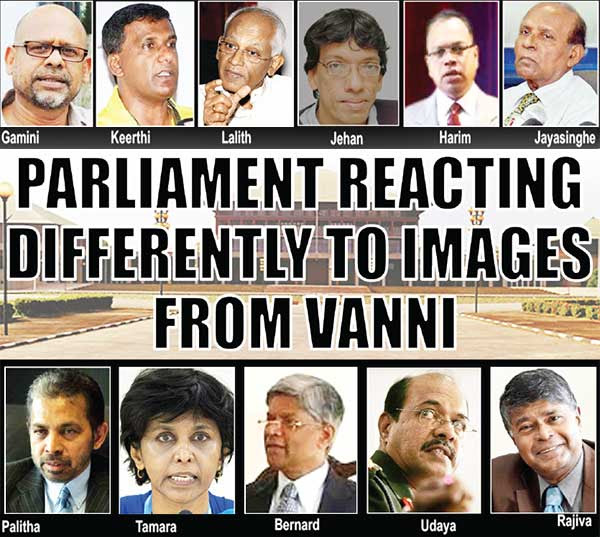 Parliament reacting