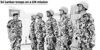 Screening of peacekeeping personnel from Sri Lanka