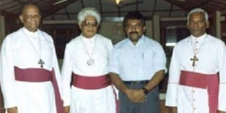 LTTE Tamil Terrorists and Church