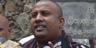 BBS Protests Interference of UK Gov. in Sri Lanka