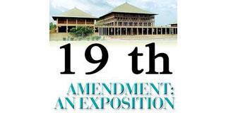 19TH AMENDMENT PLAYTHING OF THE UNP