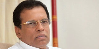 President opposes 20th A brought by Pro-LTTE JVP
