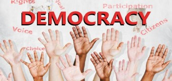 Striving to become a 'democracy'