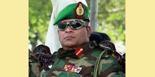 WAR HERO  SHAVENDRA SILVA APPOINTED CHIEF OF STAFF OF SRI LANKA ARMY