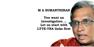 Haul TNA to court for links with LTTE terrorists & separatist demands