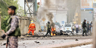 WHO CARRIED OUT THE EASTER BOMBINGS, AND WHY?