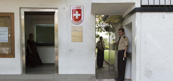 What is the Swiss Embassy Colombo trying to hide?