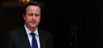 British PM David Cameron has got his wires crossed