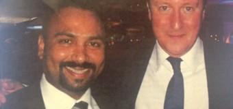 Uk Prime Minister with pro-LTTE Tamil Terrorists Businessman