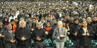 Vikramabahu Karunaratna at the LTTE Tamil Terrorists Memorial Event in London – 2010