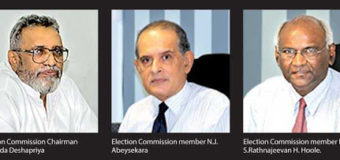 Powers of Sri Lanka's Elections Commission to postpone/declare new date for elections