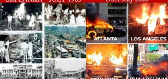 Comparing Sri Lanka's July83 riots to US 2020riots following murder of George Floyd