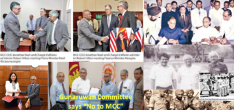 GoSL must not make the same mistake with MCC as done with Indo-Lanka Accord & 13a