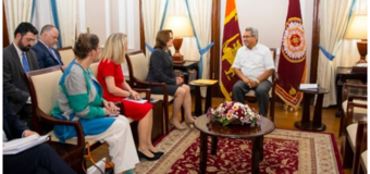 Sri Lanka-U.S. sign SOFA: License for U.S. Military to Enter