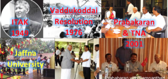 GOSL: We demand action against Vaddukoddai Resolution for separatism & ban on LTTE insignia