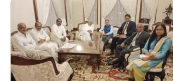 Separatists Terrorists with their Masters (TNA met Indian diplomats)