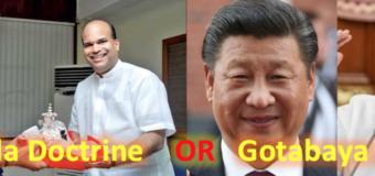 Is Moragoda doctrine clashing with Gotabaya Doctrine?