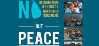 """No War Crimes, No Genocides But Peace in Sri Lanka"" – booklet issued for Photo exhibition."
