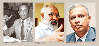 The Vellala struggle to retain power in post-colonial period