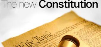 New Constitution making process underway