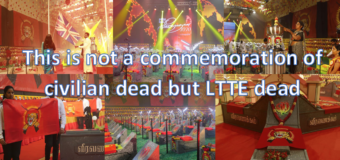 DISGRACEFUL – UK commemorates dead LTTE terrorists by lighting UK Parliament