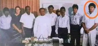 LTTE ට ආයුධ කන්ටේනර් දෙකක් ලබාදීමේ උත්සවය