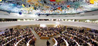 Co-sponsorship vs. consensual – Geneva Resolution