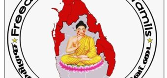 """""""Freedom Hunters for Tamils"""" – disgracing Lord Buddha"""