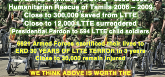 Ending Sri Lanka's Conflict: 7721 Collateral Damage is worth the eventual peace